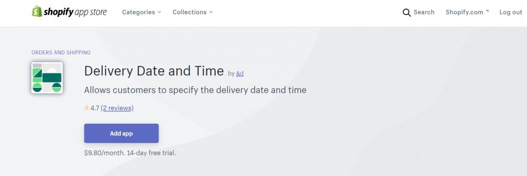 配送日時指定アプリの概要