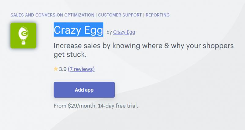 【解説】Shopifyの「Crazy Egg」とは?ユーザー分析・ABテストが可能なアプリ