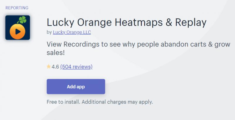 Lucky Orange Heatmaps & Replay