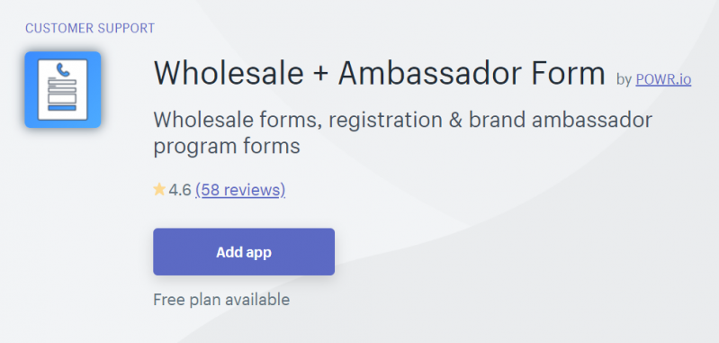 Wholesale + Ambassador Forms