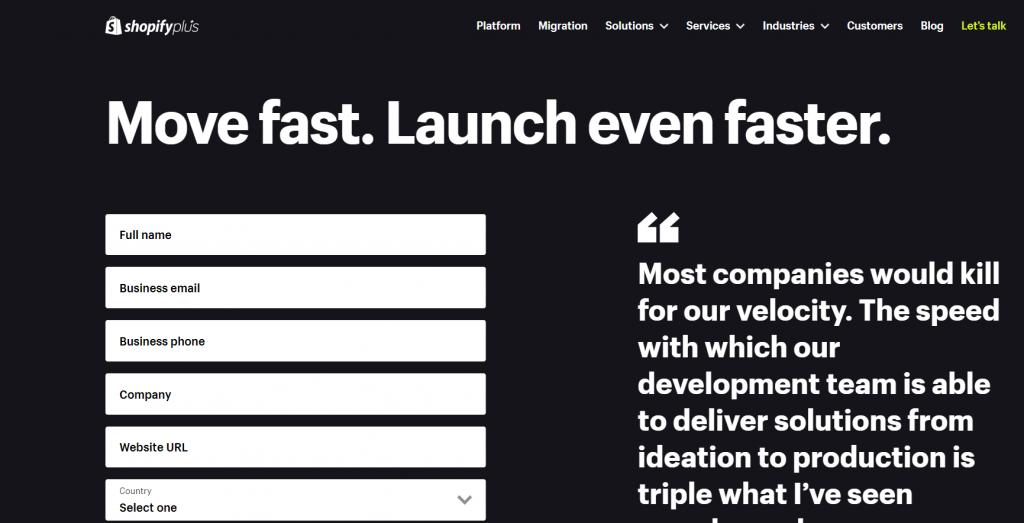 Shopify Plusのイメージ画像